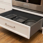 Oven Cabinet Drawer in Orion Gray