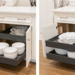 Roll Out Drawers in Orion Gray